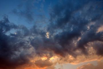 Sunrice clouds
