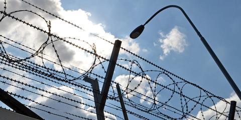 Sicherheit, Stacheldraht, Gefängnis