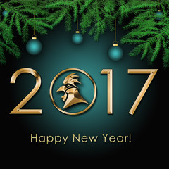 2017 Chinese New Year of the Rooster