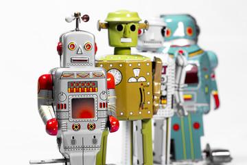 Classic robot toys