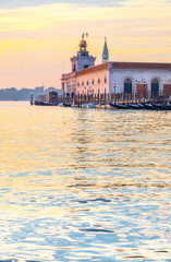 Dogana da Mar, Venice, Italy, early morning