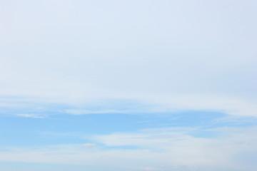 Soft cloud blue sky