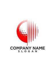technology logo design 71