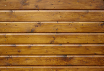 A full page of varnished wooden panelling texture