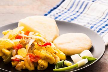 Ackee & Salt Fish