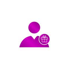 User icon vector present