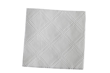 napkin isolated on white