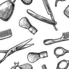Seamless pattern set tool for BarberShop