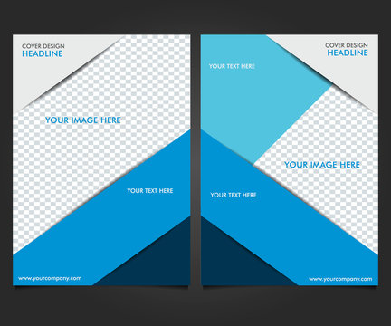 Flyers Design Template, Business Brochure Report, Magazine Poster and Cover Book Portfolio Presentation