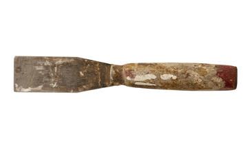 Vintage used putty knife.
