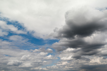 Formation of rain clouds