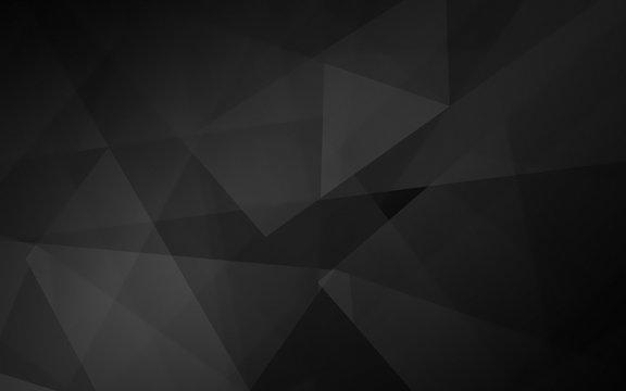 Abstract dark polygonal mosaic background