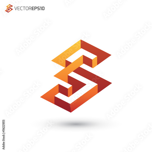 Abstract Building Architectural Letter S Logo