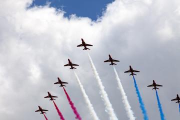 air show at London