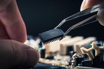 マザーボード,コンピューターのチップ
