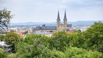 panoramic view over Bamberg