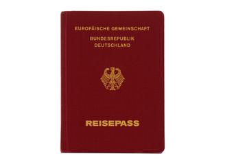 German passport for international travel