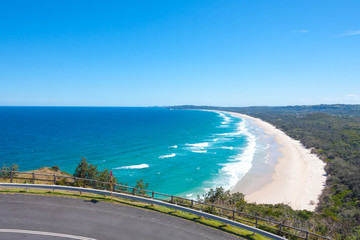 Byron bay beach is the state of New South Wales, Australia.