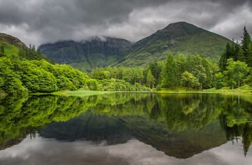 Torren Lochan in Glencoe, Scotland