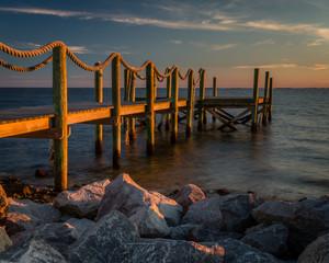 """""""Horseshoe Beach""""  Quiet fishing community on the Gulf Coast of Florida with amazing sunsets."""
