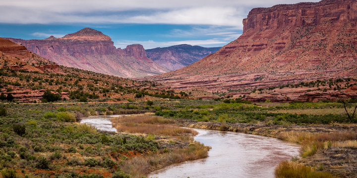 """""""Gate Way""""  Not that far from the Rocky Mountains yet western Colorado seems like a distant place."""