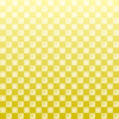 黄金 金 星 月 市松模様 パターン 背景
