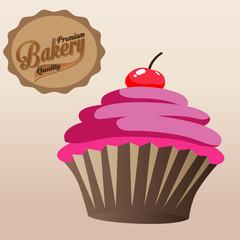 сладости и выпечка ,лого кекс,капкейк,