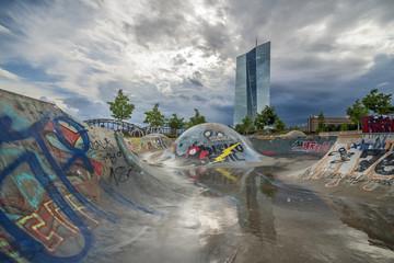 Skatepark Osthafen in Frankfurt am Main
