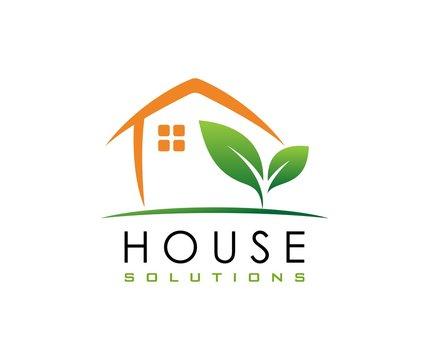 House leaf logo