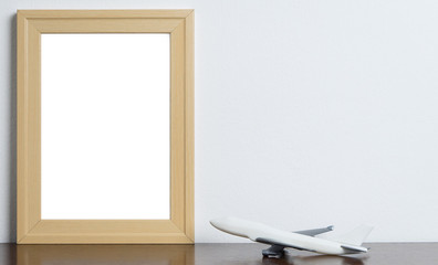 Air Travel blank Picture frame for memory photo