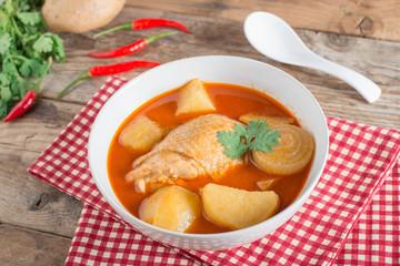 Chicken mussaman curry.