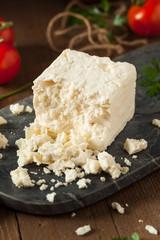 Raw Organic White Feta Cheese