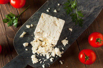 Raw Organic White Feta Cheese