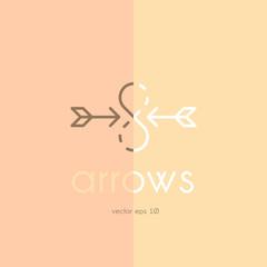 arrow vintage logo