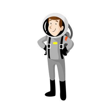 Astronaut Vector Illusttation