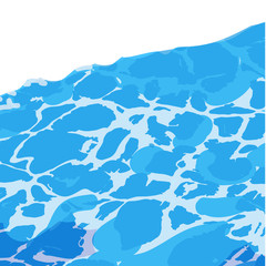 Water surface background caustic texture .