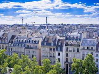 Wall Mural - Les toits de Paris