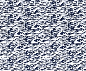 Seamless background with sea.