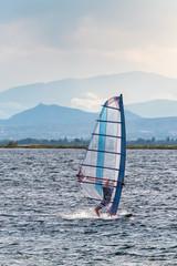 Windsurfer in Südfrankreich