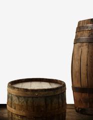 background of barrel