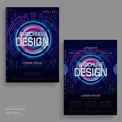 futuristic brochure template