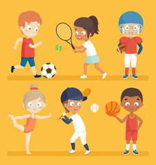 Sport kids.