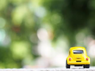 yellow car model, classic car model