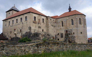 Svihov – water castle, rear view