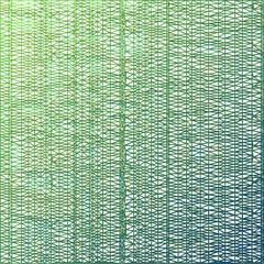 Green light triangle line on white design element background