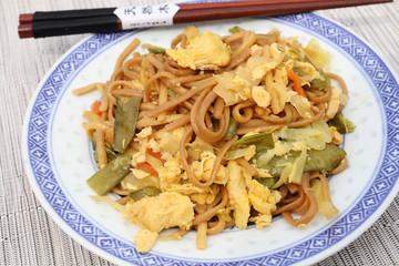 nouilles chinoises au poulet 21072016