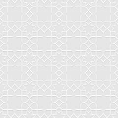 Grey Seamless Flower Pattern in Oriental style