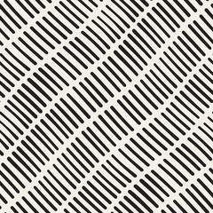 Vector Seamless Hand Drawn Rough Diagonal Lines Pattern