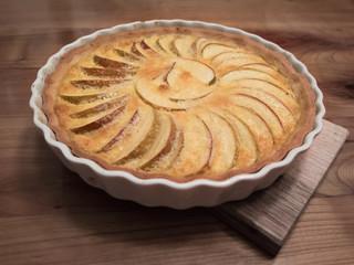 Fresh apple tarte