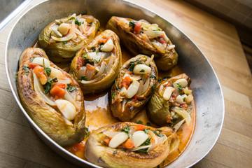 imam bayildi / Turkish traditional eggplant